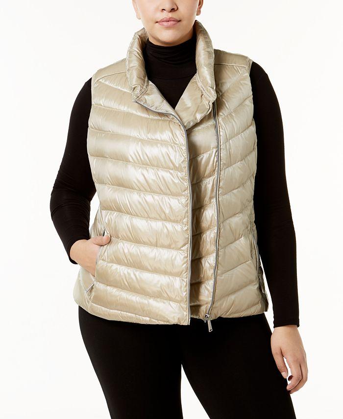 Calvin Klein - Plus Size Quilted Vest