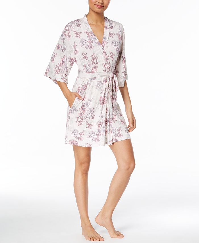 Thalia Sodi - Floral-Print Knit Wrap, Created for Macy's