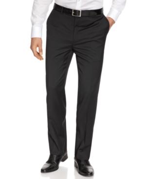 DKNY Pants, Black Tonal Slim Fit