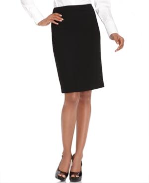 Jones New York Skirt, Pencil Skirt, Dark Navy