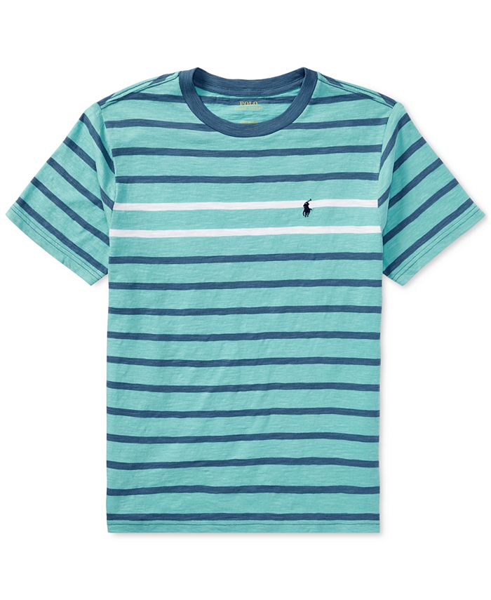 Polo Ralph Lauren - Striped Cotton T-Shirt, Big Boys (8-20)