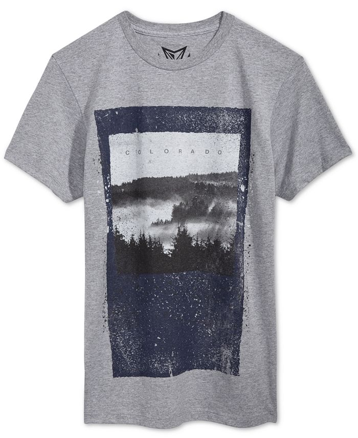 Univibe - Men's Mile High Graphic-Print T-Shirt