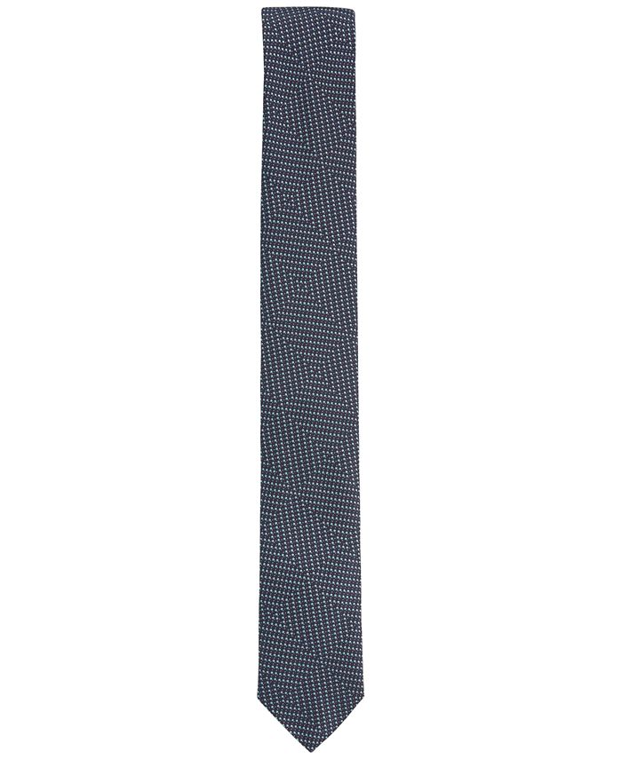 Hugo Boss - Men's Geometric Silk Slim Tie