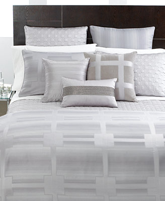 CLOSEOUT Hotel Collection Meridian Quartz Bedding