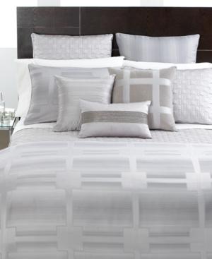 Hotel Collection Bedding, Meridian Quartz European Sham Bedding