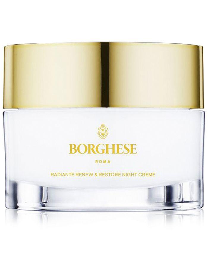 Borghese - Radiante Renew & Restore Night Creme, 1 oz.