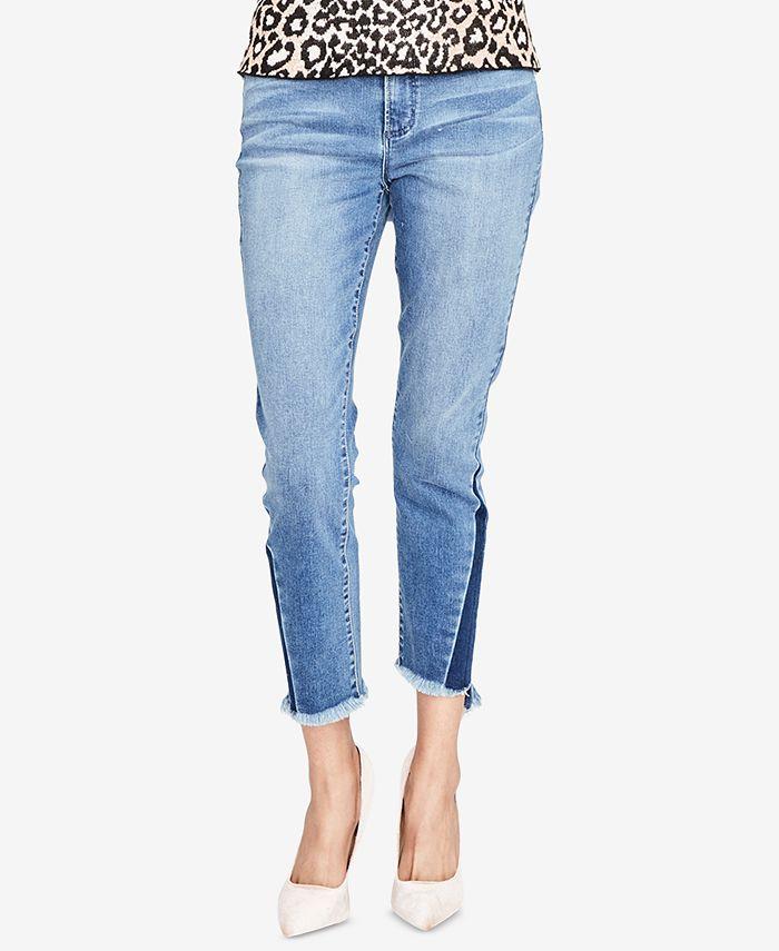 RACHEL Rachel Roy - Cropped Skinny Jeans