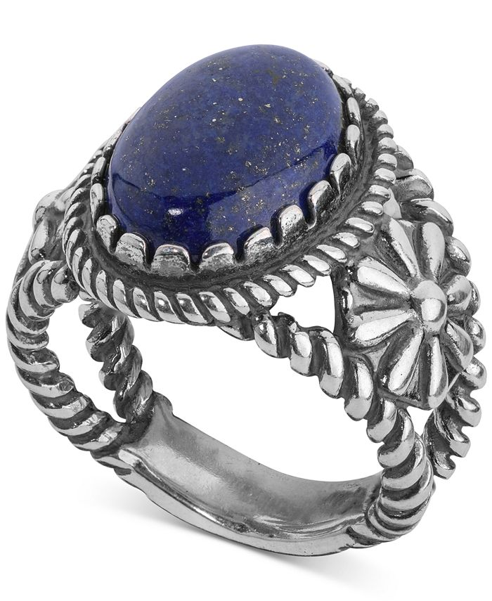 American West - Lapis Lazuli Ring (5-1/5 ct. t.w.) in Sterling Silver