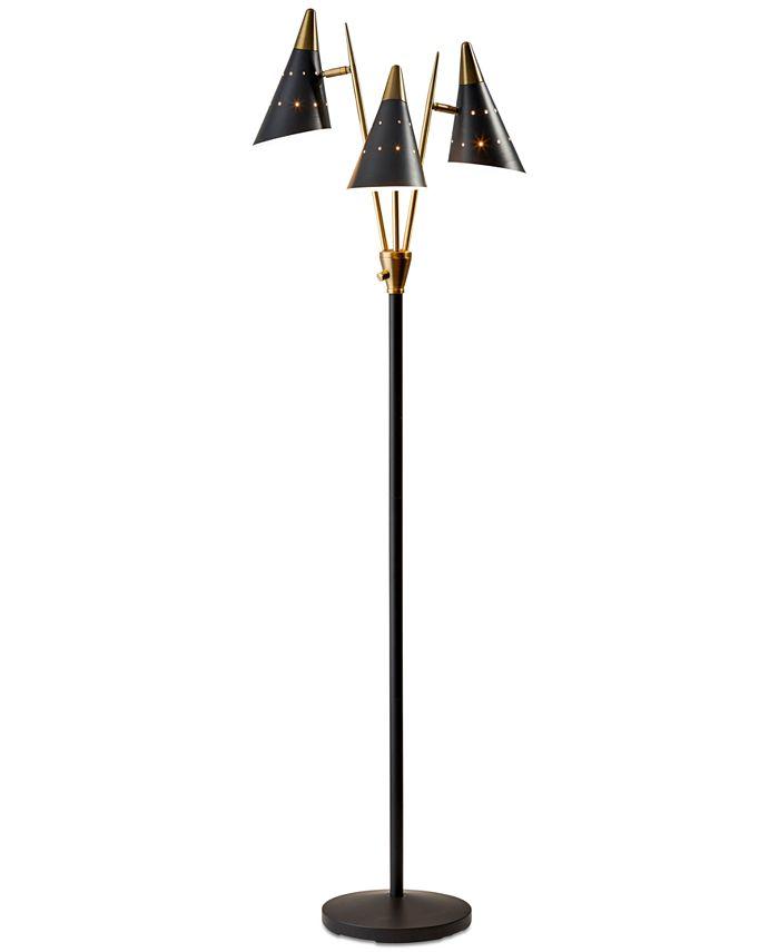 Adesso - Nadine 3-Arm Floor Lamp
