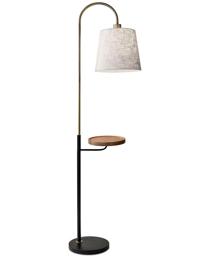 Adesso - Jeffrey Shelf Floor Lamp