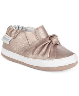 Robeez Bella's Bow Shoes, Baby Girls (0