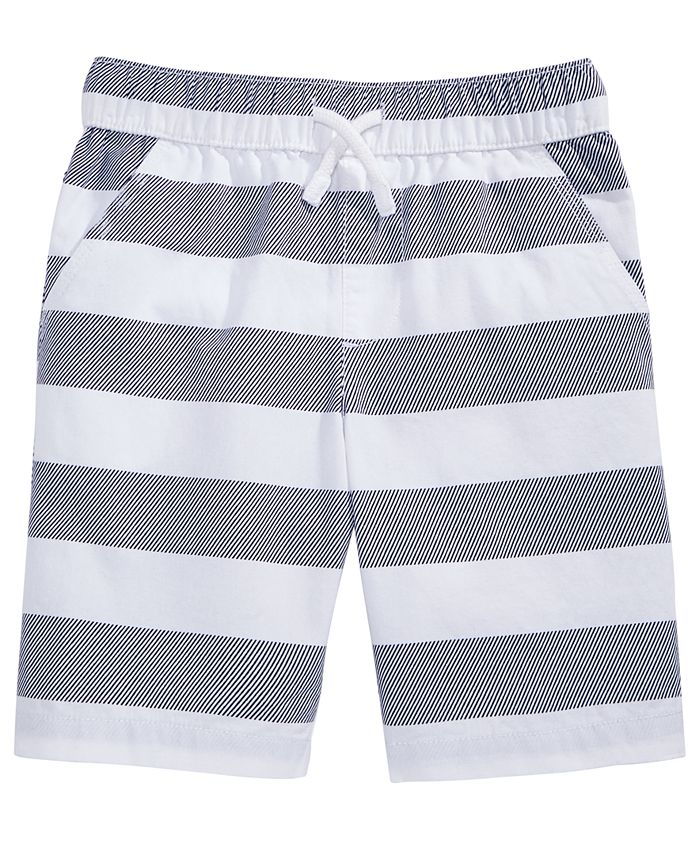 Epic Threads - Rugby Stripe Cotton Shorts, Toddler Boys (2T-4T)