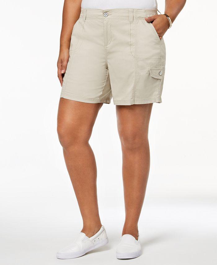 Style & Co - Plus Size Cargo Shorts