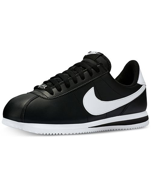 Men's Cortez Basic Leather Casual Sneakers