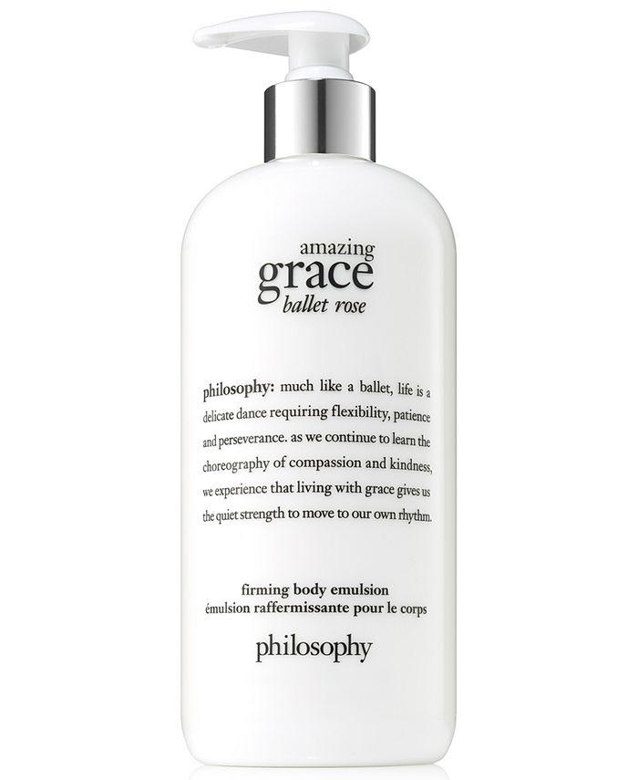 philosophy - Amazing Grace Ballet Rose Firming Body Emulsion, 16-oz.