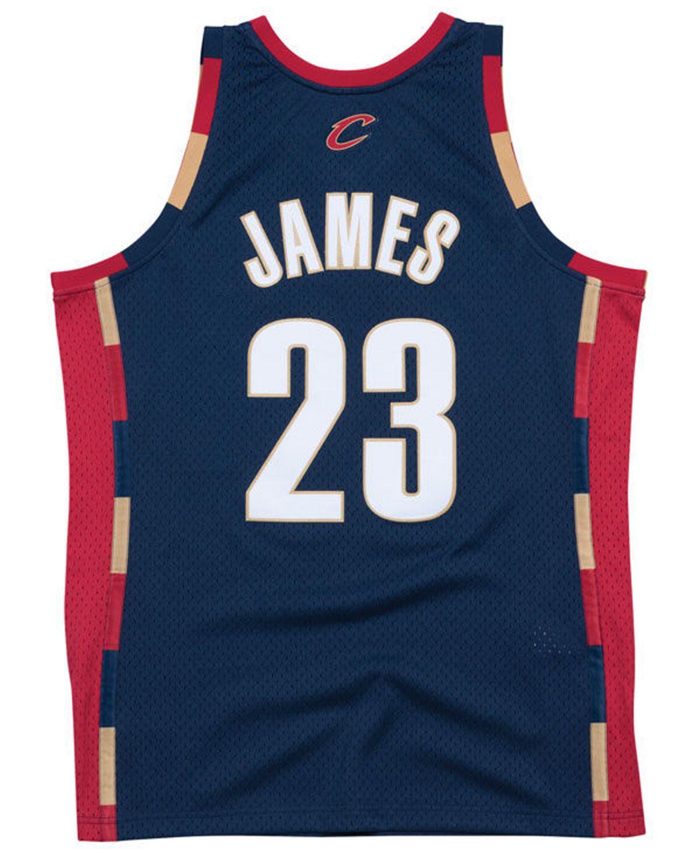 Mitchell & Ness Men's LeBron James Cleveland Cavaliers Hardwood Classic Swingman Jersey & Reviews - Sports Fan Shop By Lids - Men - Macy's