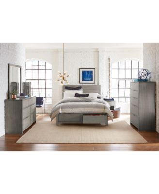 Tribeca Storage Full Platform Bed, Created for Macy's
