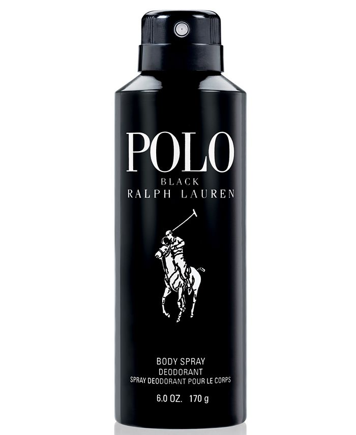 Ralph Lauren - Polo Black Body Spray, 6 oz