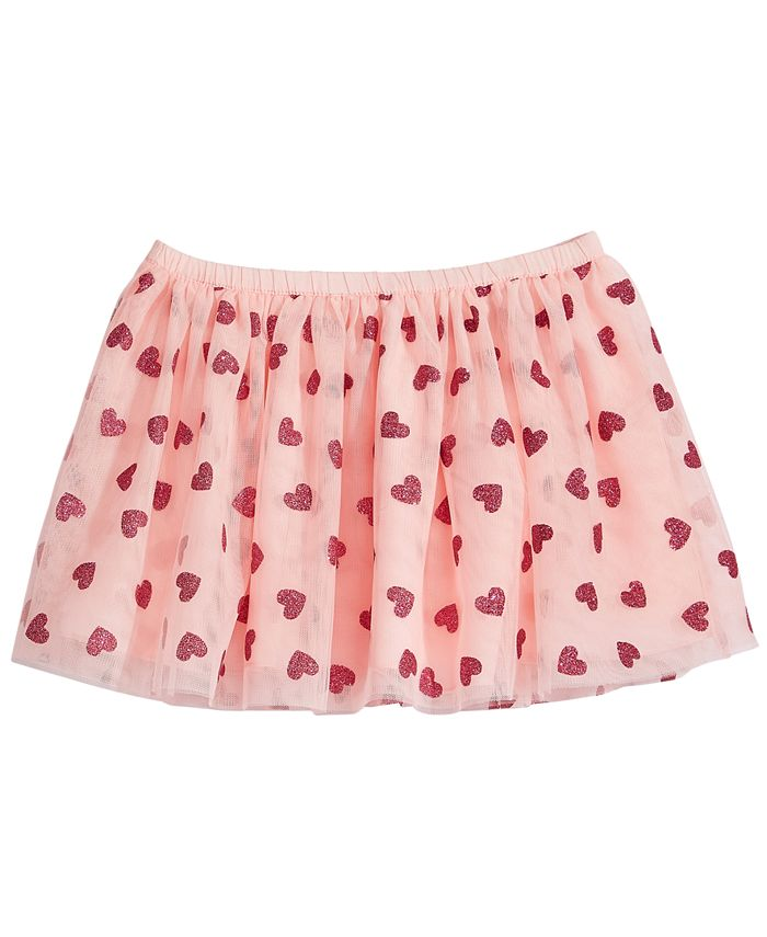 Epic Threads - Heart-Print Skirt, Little Girls