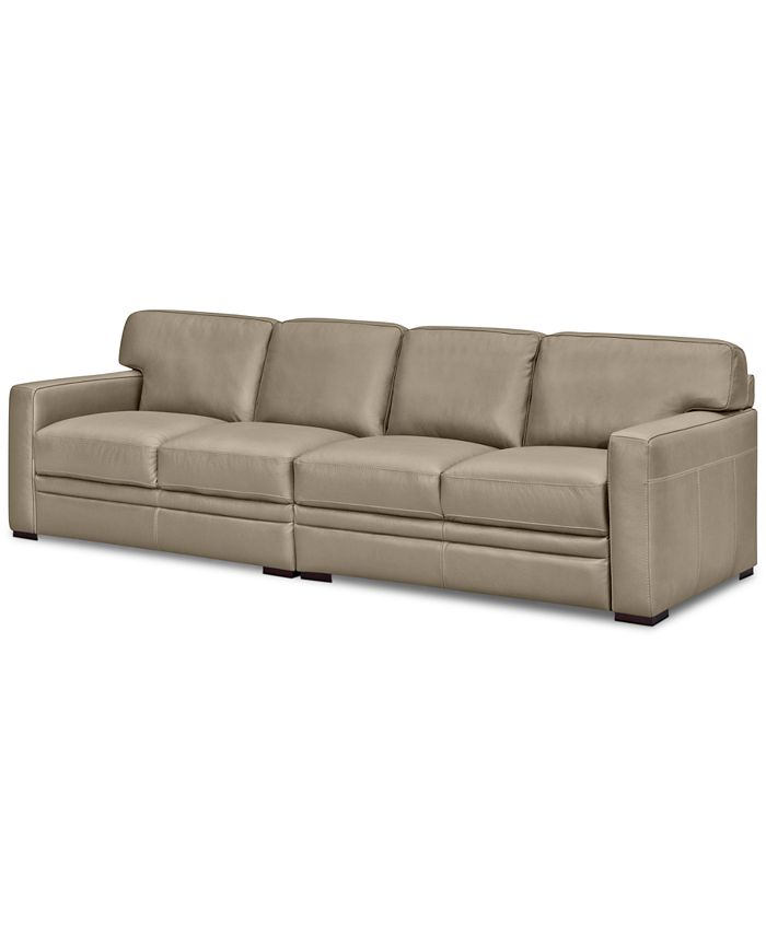 Furniture - Avenell 2-Pc. Leather Sectional