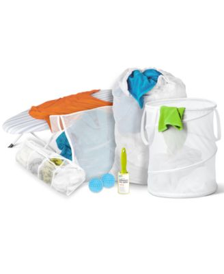 Honey Can Do Laundry Kit,  Laundry For Dummies 7 Piece Deluxe Set