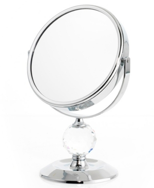 Upper Canada Soap Mirrors, Single Crystal Ball Mirror 7x