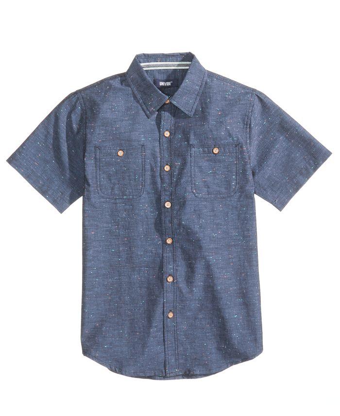 Univibe - Radiator Cotton Shirt, Big Boys