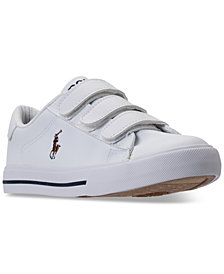 Polo Ralph Lauren Little Boys Easten II EZ Stay-Put Closure Casual Sneakers from Finish Line
