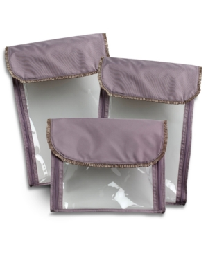 Barbara Barry for Hartmann Accessory Bags, Pirouette Set of Three Perfect Packers