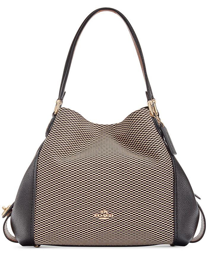 COACH - Legacy Jacquard Edie 31 Shoulder Bag