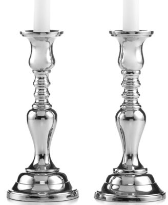 Set of 2 Hampton Candlesticks