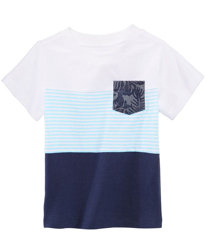 First Impressions - Pocket Cotton T-Shirt, Baby Boys