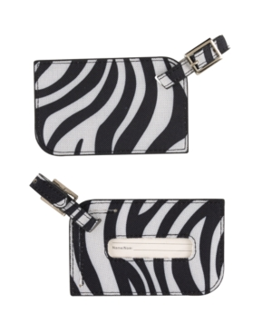 Concierge Luggage Tags, Zebra Set of 2