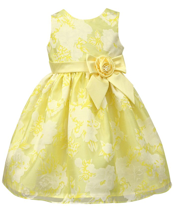 Jayne Copeland - Floral Organza Dress, Toddler Girls (2T-4T)