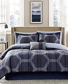 Madison Park Essentials Rincon 7-Pc. Twin Comforter Set