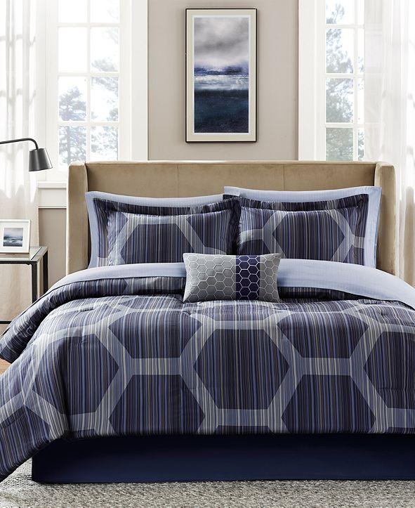Madison Park Rincon 7-Pc. Twin Comforter Set