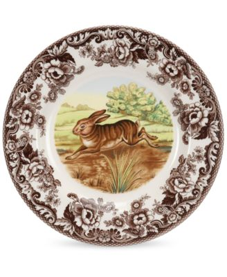 Spode Dinnerware, Woodland Rabbit Dinner Plate