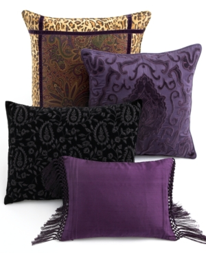 "Lauren by Ralph Lauren Bedding, New Bohemian 18"" Square Decorative Pillow Bedding"