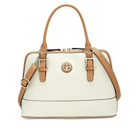 Deals on Giani Bernini Saffiano Dome Satchel