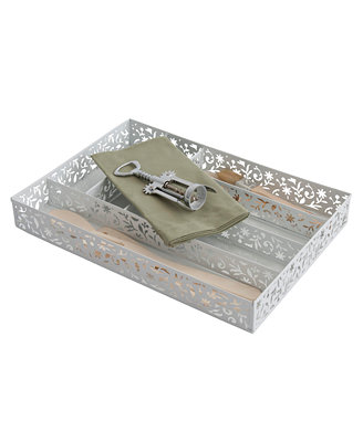 Design Ideas Flatware Caddy, Large Drawer Caddy - Flatware ...