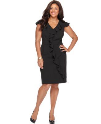 macy s women s plus size dresses collections