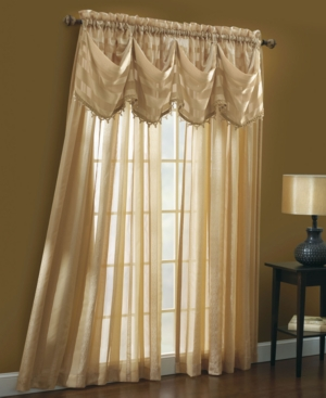 "Croscill Window Treatments, Trafalgar 53"" x 84"" Sheer Panel Bedding"