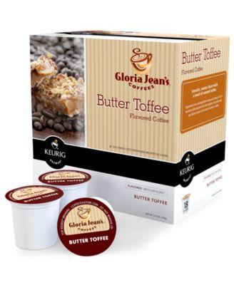 Keurig 0527 K-Cup Portion Packs, Gloria Jean's Butter Toffee