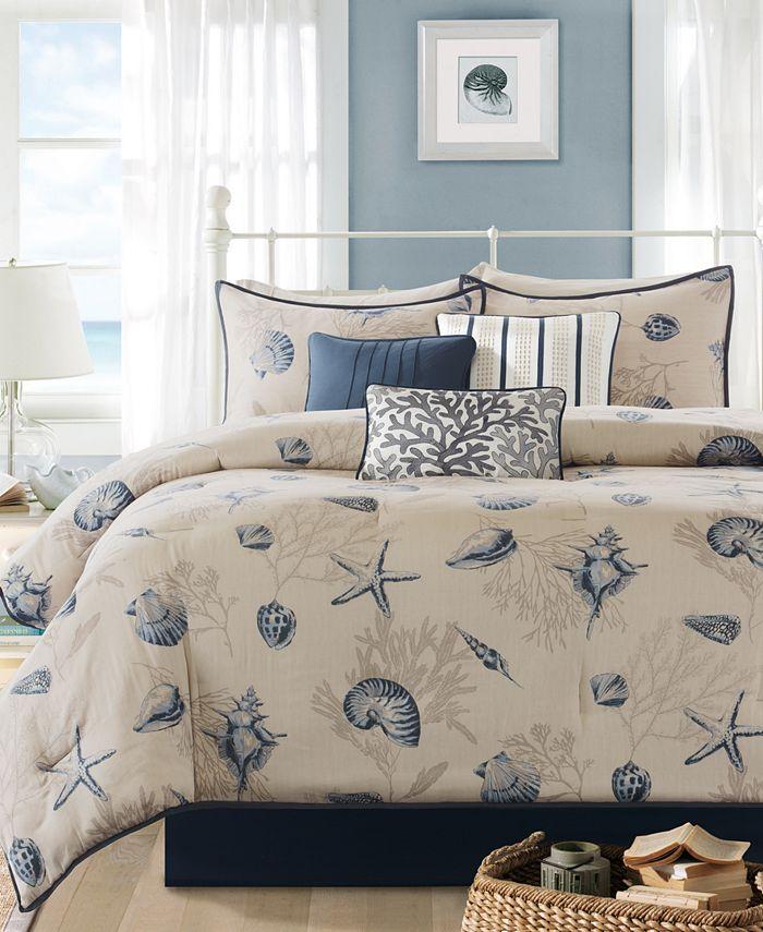 Madison Park - Bayside 7-Pc. California King Comforter Set