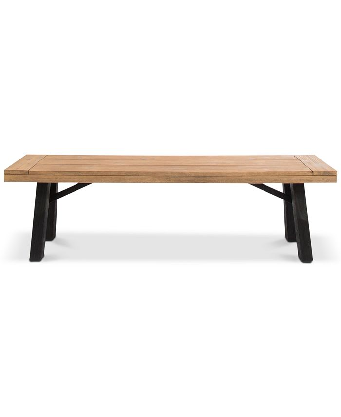 Noble House - Avalon Dining Bench, Quick Ship