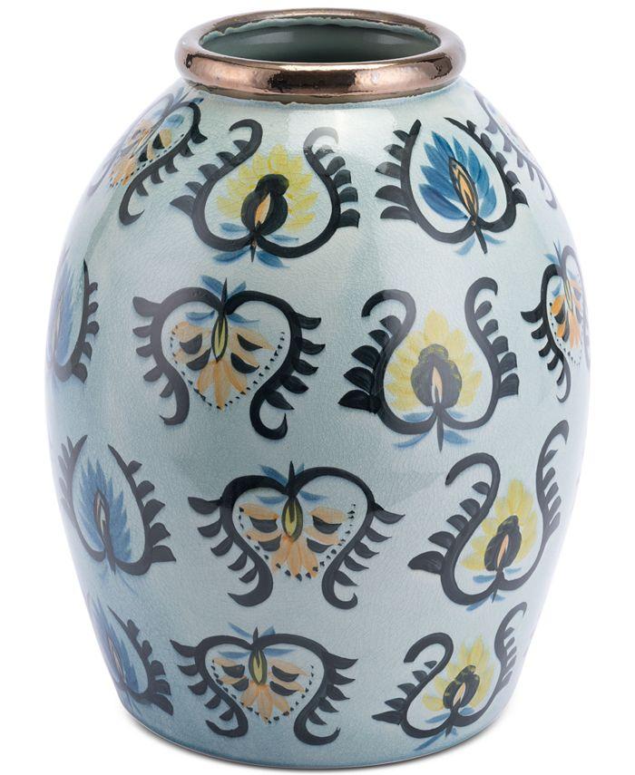 Zuo - Paisley Temple Jar Multicolor