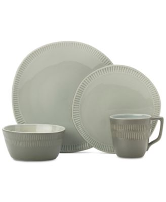 Marbella Grey 4-Pc. Place Setting
