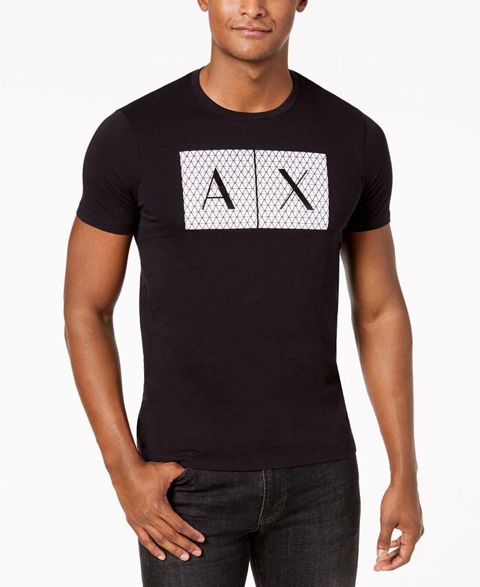 A|X Armani Exchange - Men's Foundation Triangulation T-Shirt