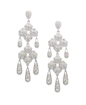 Eliot Danori Earrings, Les Fleurs Chandelier Earrings