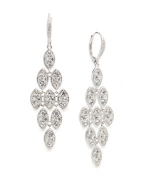 Eliot Danori Earrings, Large Marquise Kite Leverback Drop Earrings